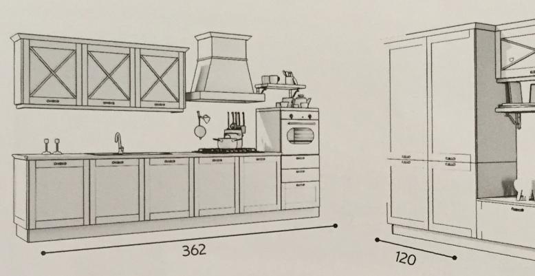 Creo kitchen Vivian proposta 108