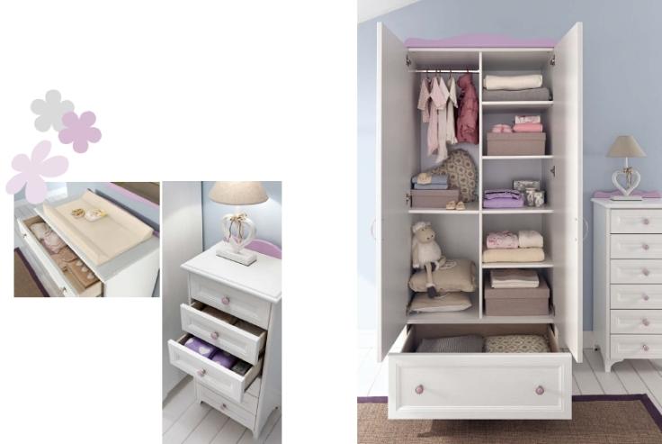 Collezione Carezza Baby 6 • Interno armadio, settimino