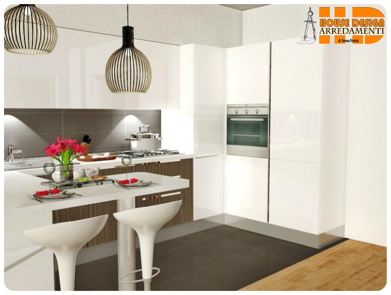 Cucina A Ferro Cavallo ~ Ispirazione design casa