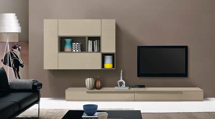 Living soggiorno_L10 frassino canapa-grigio londra