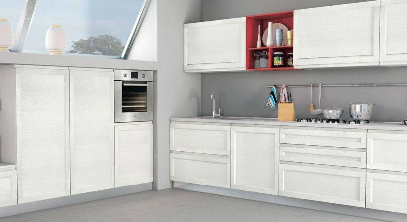 Cucina SELMA frassino bianco _Creo kitchens 2