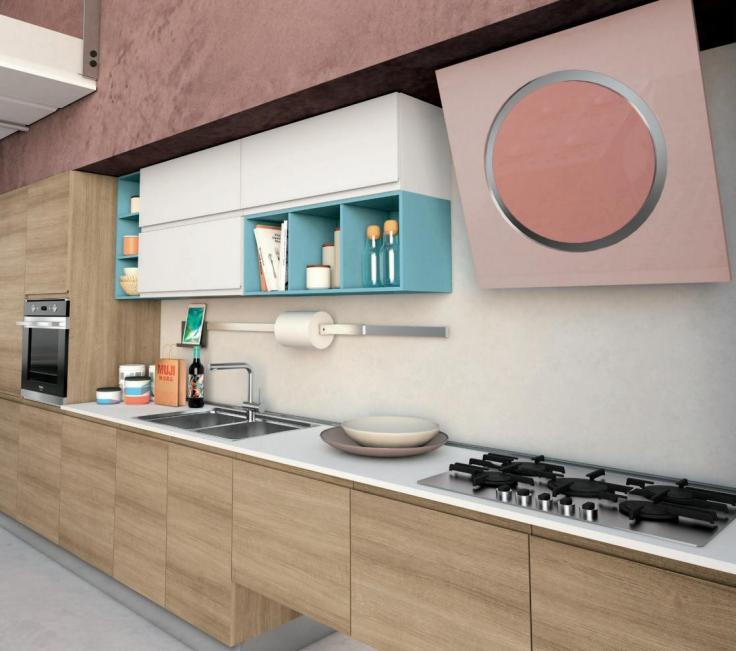 Cucina Creo modello Jey proposta 34 b