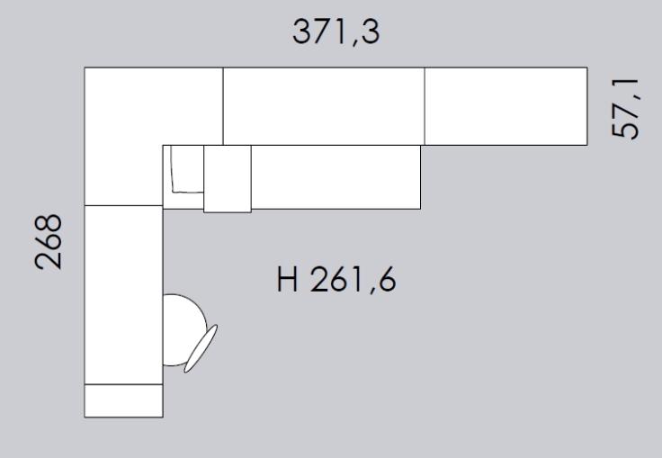 cameretta colombini ancona C143 misure