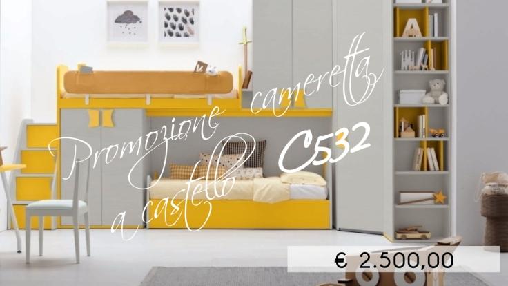 promozione cameretta colombini ancona c532
