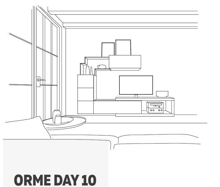 promozione soggiorno orme 10 disegno