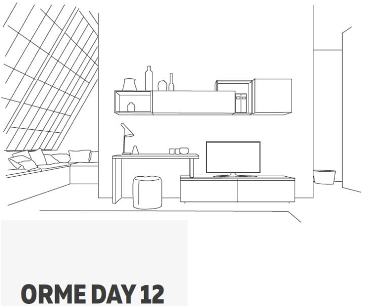 Arredare Soggiorno: con living Orme Light – STUDIO DI INTERIOR DESIGN