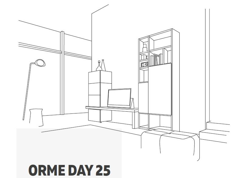 promozione soggiorno orme 25 disegno