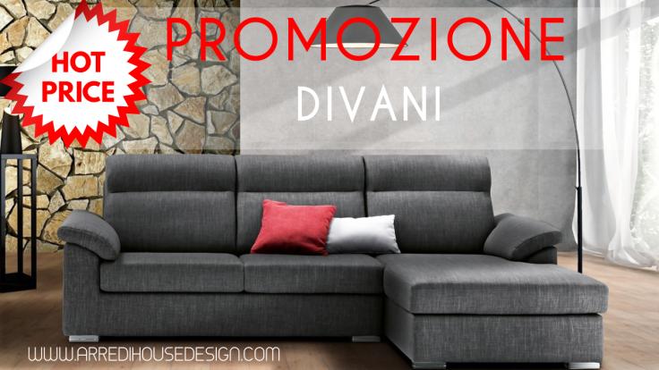 Promozione Divani e Divani letto – House Design Arredamenti