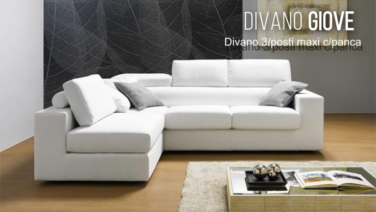 promozione+divano+penisola+Ancona+Giove con panca