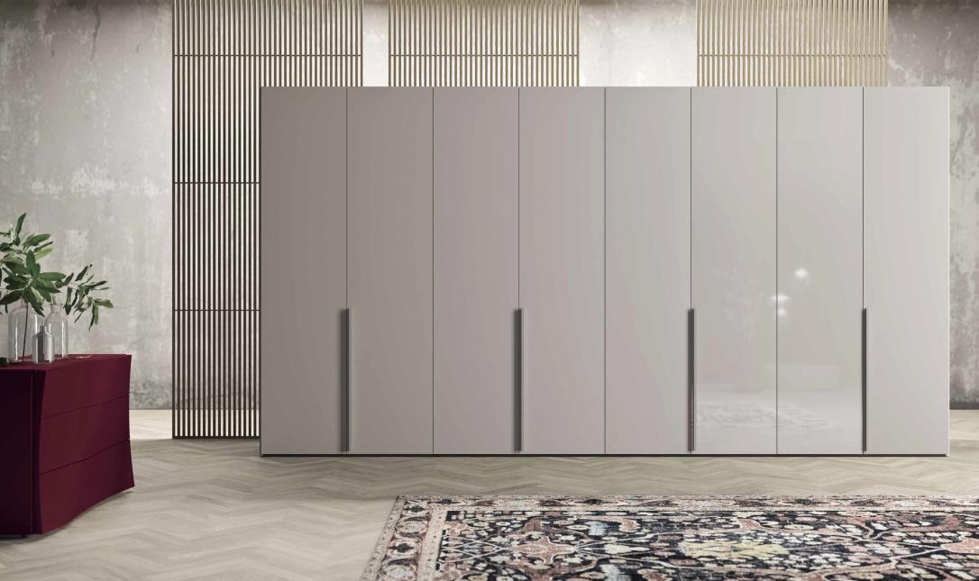 armadio-battente-grigio-in-Ancona-modello-style-colombini