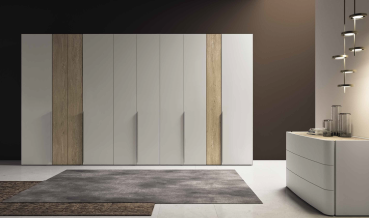 armadio-battente-rovere-e-grigio-in-Ancona-modello-solid-colombini