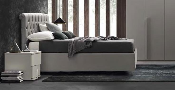 gruppo-letto-grigio-lucido-colombini-in-Ancona-modello-gioia